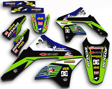 2006 2007 2008 KXF 250 GRAPHICS KIT KAWASAKI KX250F KX F 250F MX  DECALS KXF250