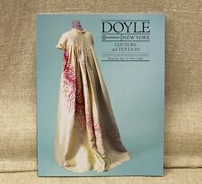 Doyle NY 1999 COUTURE & TEXTILES Auction Catalog Book Designer Clothing & More