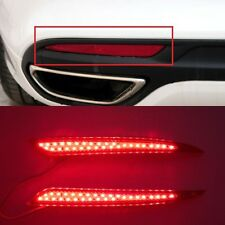 For Ford Fusion 2013 2014 2015 Red lens LED Rear Bumper Reflector Light Lamp