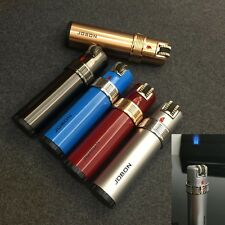 Jobon ZB303 Float Fire Funny Flame Butane Gas Cigarette Cigar Lighter with Lock