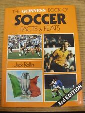 1980 Guinness Book: Football - The Guinness Book Of Soccer Facts & Feats By Jack
