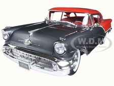 1957 OLDSMOBILE SUPER 88 GREY / RED LTD 762PCS 1/18 DIECAST CAR BY ACME A1808001