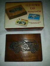 Vintage OLD-TIMER CAR Playing Card Set Cards Unopened