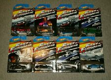 2014 HOT WHEELS FAST AND FURIOUS 8 CAR SET NIP VHTF