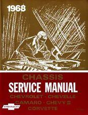1968 Chevrolet Corvette Chevelle Shop Service Repair Manual