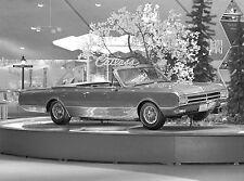 1964 Oldsmobile cutlass 442 convertible concept car 8 x 10 photograph