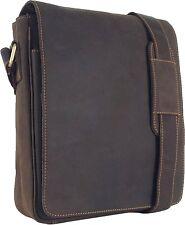UNICORN Réal en cuir iPad, Kindle, Tablette Accessoires Messager Sac Marron #2E