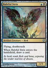 MTG BALEFUL STRIX SPANISH EXC - STRIGE FUNESTO - CMD2013 - MAGIC
