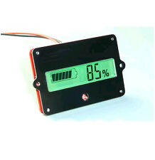 lead batteries indicator battery capacity LCD Tester 12V-24V F/  Lead Acid LiPo