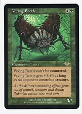 MTG Legions Rare Vexing Beetle, M-NM Card has never been played.