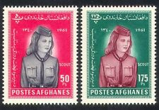 Afghanistan 1962 Girl Scouts/Scouting 2v set (n28206)