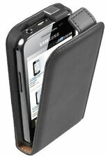Ultra Slim Black Leather case for Phone Samsung Galaxy Ace GT-S5830 / S5839