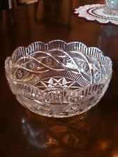 Amazing Waterford Crystal Apprentice Bowl ~~ NIB ~~ Wedding Gift Perfect