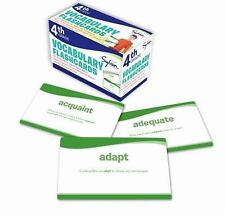 Fourth Grade Vocabulary Flashcards by Sylvan Learning Staff (2011, Diary,...