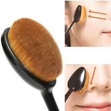 Cosmetic Makeup Face Powder Blusher Toothbrush Curve Brush Foundation Gadget
