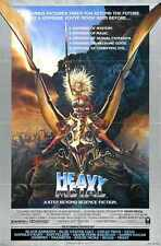 Heavy Metal Poster 01 Metal Sign A4 12x8 Aluminium