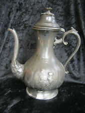 Original Jugendstil Kaffekanne, antique Art Nouveau Coffee Pot