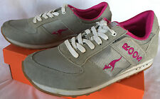 Roos Revival 10 Leather Grey Rose Pocket Marathon Running Shoes Women's 11 M