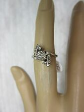 GORGEOUS ESTATE 14 KT GOLD .73 CTW FANCY CHAMPAGNE DIAMOND RING !!!!!!!!!