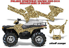 Amr racing decoración Graphic kit ATV Polaris sportsman modelos Skull camo B