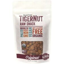 Organic Gemini Tiger Nuts Raw Paleo SuperFood Prebiotic Snack - 5 oz TigerNut