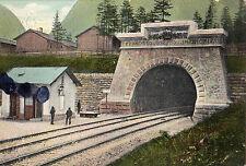 OLD POSTCARD -  AUSTRIA - Badgastein - Bockstein- Taurntunnel-Portal - 1910
