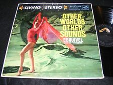 SPACE EXOTICA LIVING STEREO Esquivel RCA Victor LP OTHER WORLDS OTHER SOUNDS 58