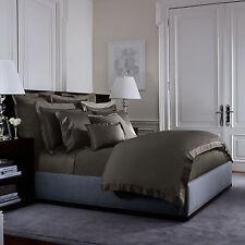 Ralph Lauren Langdon Solid 624Tc Full/Queen Duvet Cover $355 Metropolitan Grey
