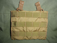 NEW Eagle Industries Double 5.56 Shingle Mag Pouch Khaki Bungee MOLLE