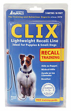 Clix by Company of Animals Lightweigt Recall Line 5m Puppy Dog Training Leash