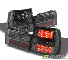 Smoked 89-95 Bmw 5-Series E34 Philips-Led Perform Tail Brake Lights Left+Right