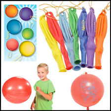 50* Large Punch Balloons Punchballs Children Bouncy Party Bag Fillers Wholesale