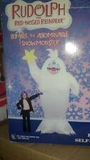 CHRISTMAS BUMBLE ABOMINABLE SNOWMAN RUDOLPH REINDEER AIRBLOWN INFLATABLE GEMMY 8