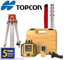 Topcon RL-H4C Self-Leveling Rotary Grade Laser Level W tripod and 14' Rod Inches