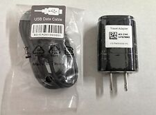 NEW OEM LG USB Charger MCS-01WR 01WT + Data Cable Optimus G Pro E970 G2 F3 F6