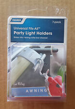 RV/Camper/Trailer -Universal Fits-All Awning Party Light Holders, 7-PACK