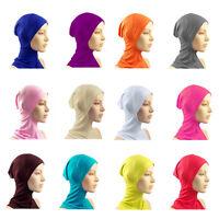 Under Scarf Hat Cap Bone Bonnet Hijab Islamic Head Wear Neck Cover Amira NEW A57