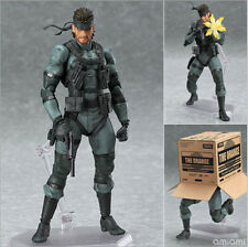Metal Gear Solid #243 Snake with Gun Action Figure Model Doll Toy Statue 16cm