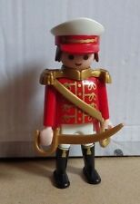 PLAYMOBIL figurine PIRATES officier cavalerie de la garde anglais custom royal