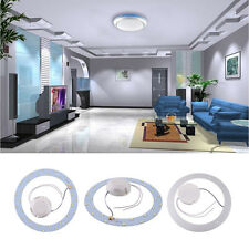 15W 30 LED Panel Circle Annular Practical Efficient Ceiling Light Pure White^