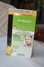Garnier Skin Renew Dark Spot Intensive Hydration Treatment Mask Revitalizes Face