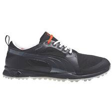 New for 2015 Mens Puma BIOFLY MESH Golf Shoes Black/Silver Sz 9 M - Retail $120