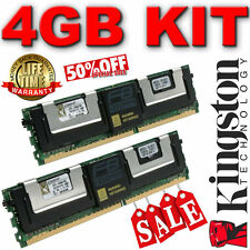 Kingston GM431-QAB - INTD 1F Kit (2 X 2GB) Fb-DIMM 240-pin DDR2 667MHz PC2-5300