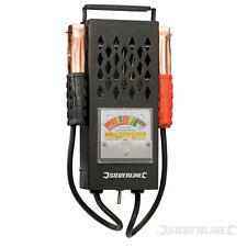 Silverline ~ Batterieprüfer Batterietester Ladefunktionsprüfer für 6V und 12V
