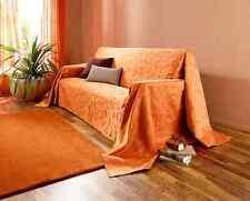 """Überwurf """"Indian Summer"""" (Größe: 210 x 140 cm)OrangeTagesdecke,Überwurf  *NEU*"""