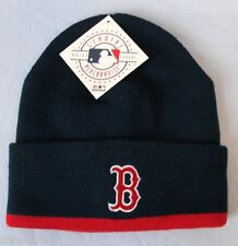 BOSTON RED SOX MLB EMBROIDERED KNIT BEANIE HAT WITH CUFF OSFA FREE SHIPPING