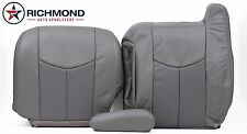 2005 GMC Yukon Denali -Driver Side Complete Replacement Leather Seat Covers Gray
