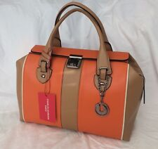 NWT $398 CHARLES JOURDAN KABRINA LARGE SATCHEL HANDBAG PURSE