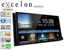 Kenwood Excelon Double Din DVD CD Player Car Bluetooth Iphone