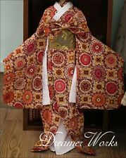 1/4 SD/BJD Doll Clothes Japan Style Ancient Costume Cosplay Kimono Collection